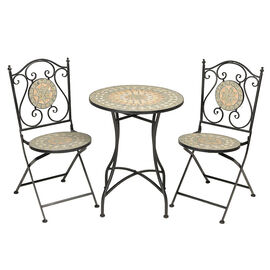 London Drugs Mosaic Top Bistro Set - 3 piece