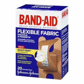Johnson & Johnson Band-Aid Knuckle and Fingertip - Assorted - 20's