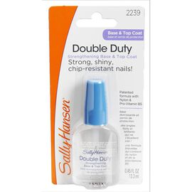 Sally Hansen Double Duty Strengthening Base & Top Coat - 13ml