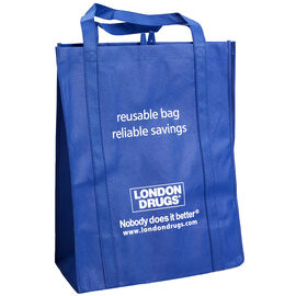 London Drugs Reusable Shopping Bag - Large - 9 x 16 x 20inch