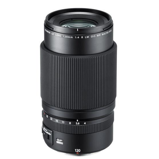 Fuji GF 120mm F4 Macro Lens - Black - 600018269