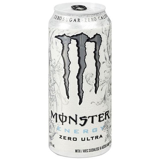 Monster Energy Drink Zero Ultra - 473ml