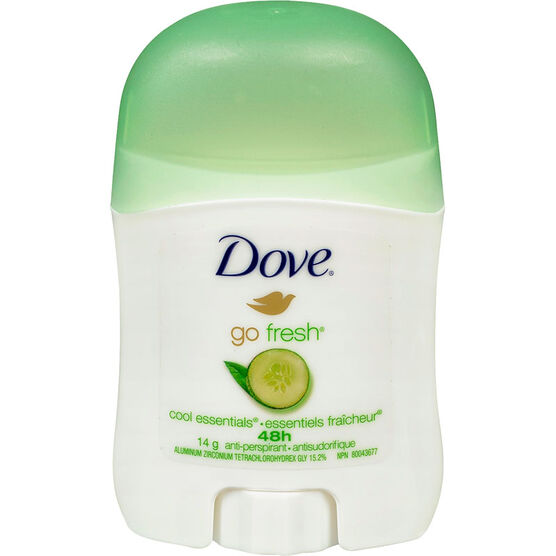 Dove Go Fresh Anti-Perspirant Stick - Cool Essentials - 14g