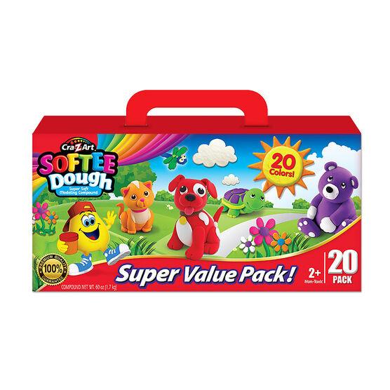 Cra-Z-Art Softee Dough - 20 pack