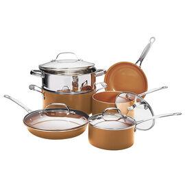 Gotham Steel Cookware Round Set - 10 piece