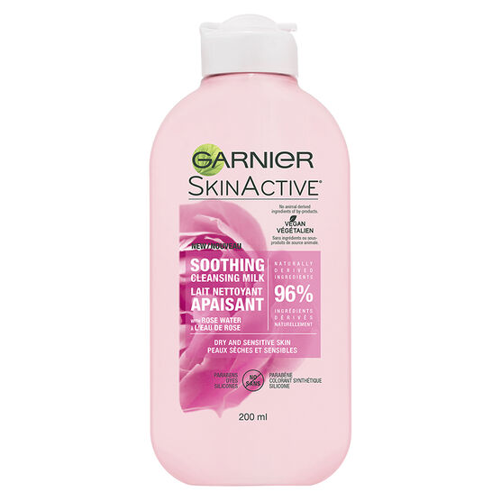 Garnier SkinActive Soothing Cleansing Milk - Dry & Sensitive Skin - 200ml