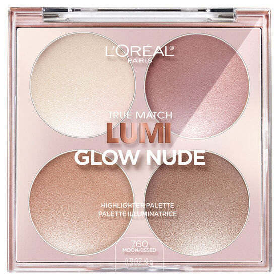 L'Oreal True Match Lumi Glow Nude Highlighter Palette - Moonkissed