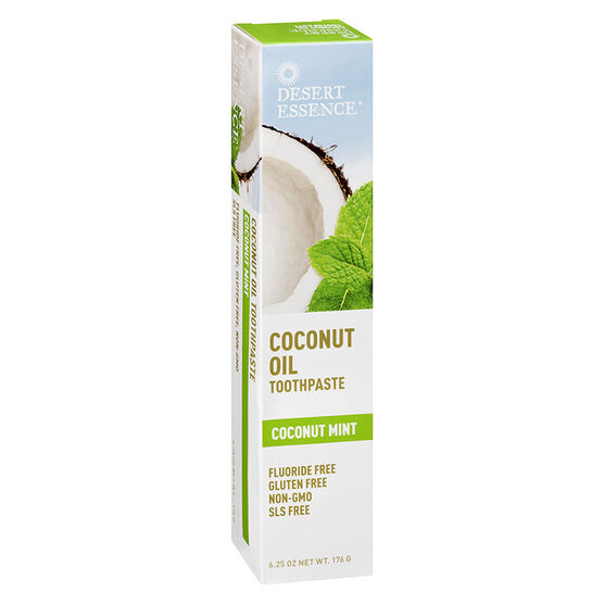 Desert Essence Coconut Oil Toothpaste - Coconut Mint - 176g