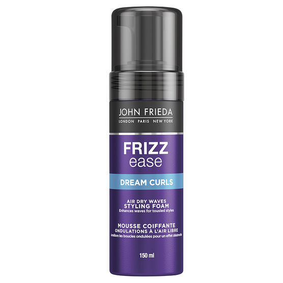 John Frieda Frizz Ease Dream Curls Air Dry Waves Styling Foam - 150ml,
