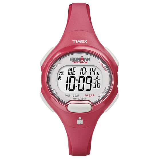 Timex Ironman Mid Size Watch - Coral/Red - T5K783GP