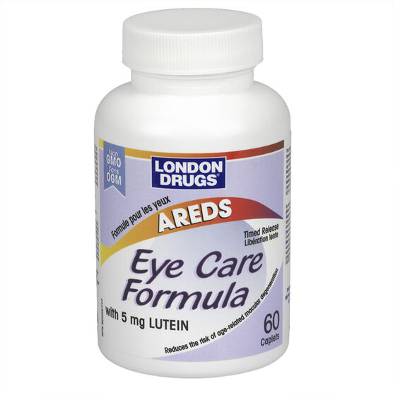 London Drugs AREDS Eye Care Formula with 5mg Lutein - 60's