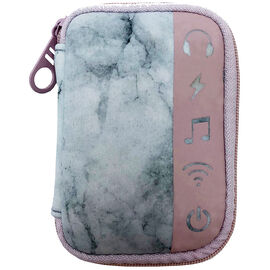 My Tagalongs Ear Bud Case - Marble & Pink - 57004