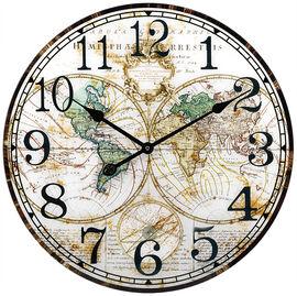 London Drugs Glass Wall Clock - Globe