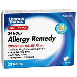 London Drugs 24 Hour Allergy Remedy - 24's