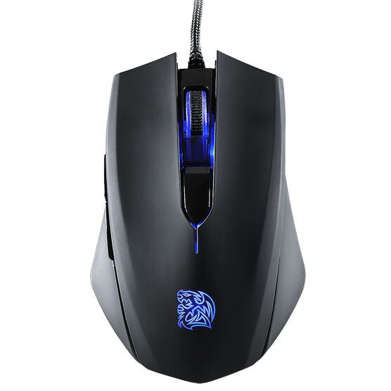 Tt eSports Talon Blu Gaming Mouse - Black - MO-TLB-WDOOBK-01