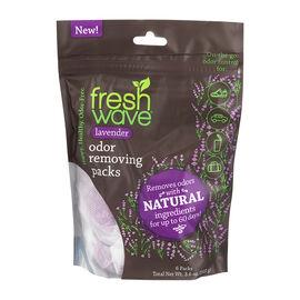 Fresh Wave Odour Removing Packs - Lavender - 6 Packs