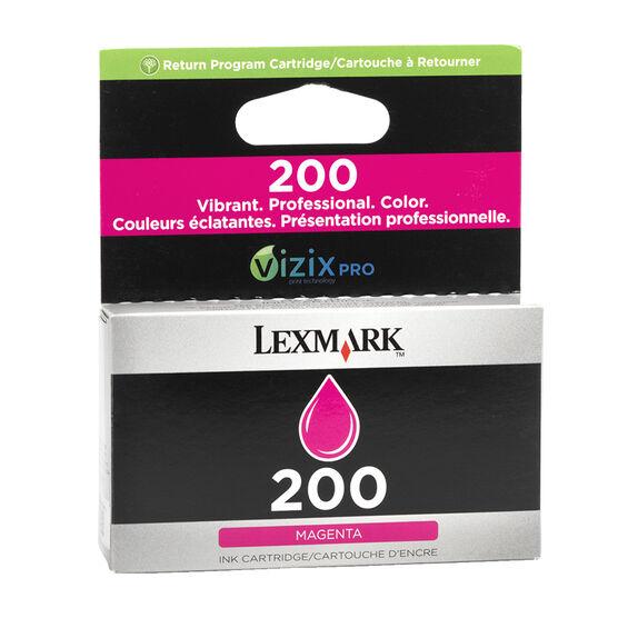 Lexmark 200 Return Program Ink Cartridge - Magenta - 14L0648