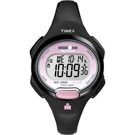 Timex Ironman Triathlon 10 Lap Watch - Black/Pink - T5K522GP