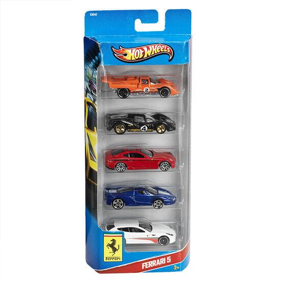 Hot Wheels 5 Car Gift Set