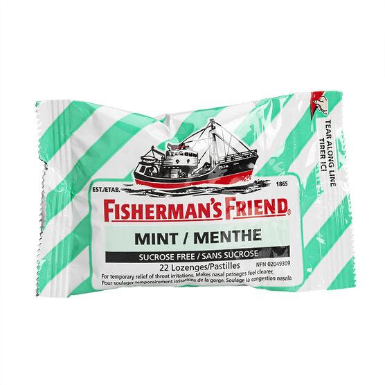 Fisherman's Friend - Sugar Free Fresh Mint - 22's