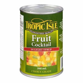 Tropic Isle Fruit Cocktail - 398ml