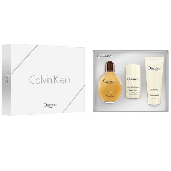 Calvin Klein Obsession for Men Set - 3 piece