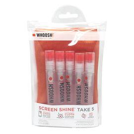 Whoosh Take 5 Tech Hygiene - Clear - 1FG5PKTENFR