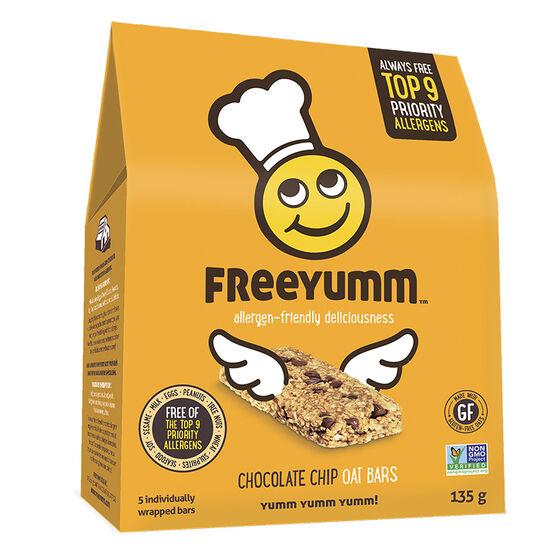 Freeyumm Oat Bars - Chocolate Chip - 135g