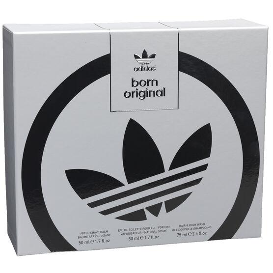 Adidas Born Original For Him Fragrance Set - 3 piece