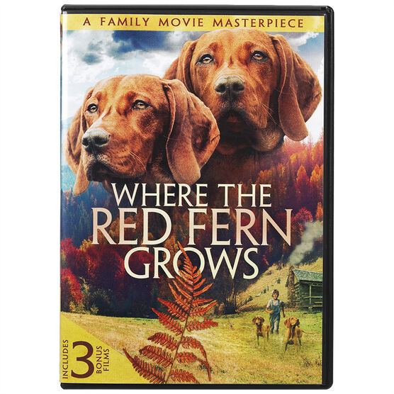 Where The Red Fern Grows - Plus 3 Bonus Films - DVD