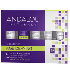 Andalou Naturals Age Defying Get Started Kit - 5 piece