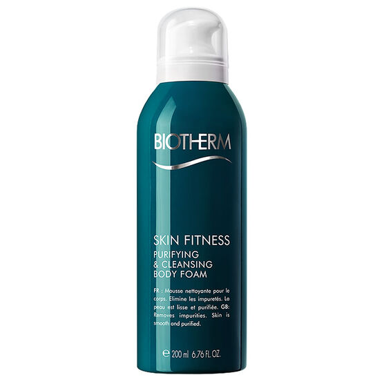 Biotherm Skin Fitness Purifying and Cleansing Body Foam - 200ml