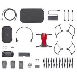 DJI Mavic Air Fly More Bundle - Red - CP.PT.00000174.01