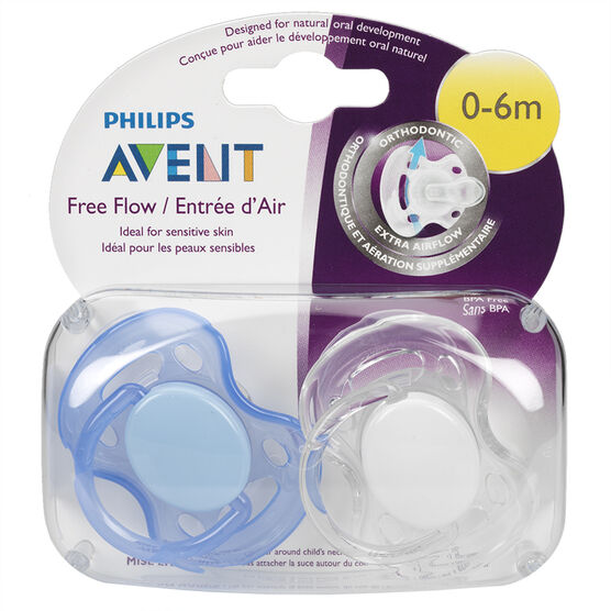 Avent BPA-Free Infant Pacifier - 0-6m - SCF178/23