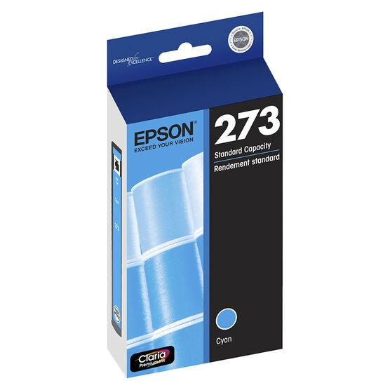 Epson 273 Claria Premium Ink T273 Standard-Capacity Ink Cartridge - Cyan - T273220-S