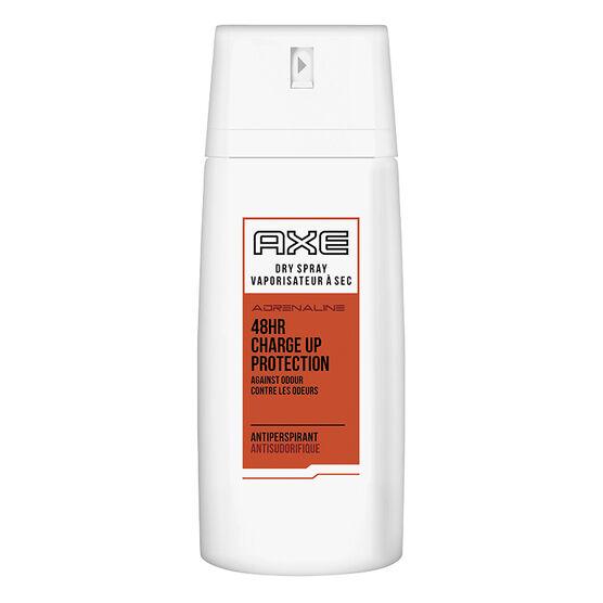 Axe White Dry Spray Antiperspirant - Adrenaline - 107g