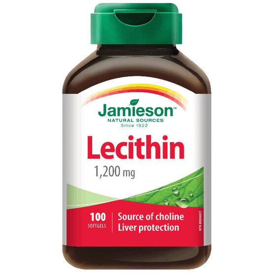 Jamieson Lecithin 1,200 mg - 100's