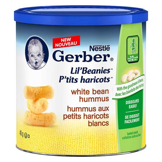 Gerber Lil' Beanies - White Bean Hummus - 40g
