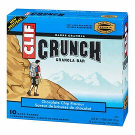 Clif Crunch Bar - Chocolate Chip - 5 x 42g