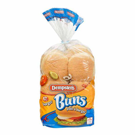 Dempster's Hamburger Buns - 12's
