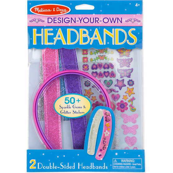 Melissa & Doug Design-Your-Own Headbands - 5548