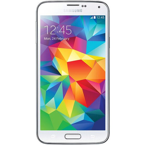 Samsung Galaxy S5 Unlocked Smartphone - White - Factory Reconditioned - SM-G900VWHT-R