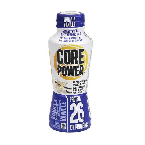 Core Power High Protein Milk Shake - Vanilla - 340ml