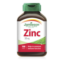 Jamieson Zinc 50mg - 100's