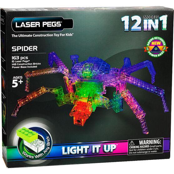 Laser Pegs Spider Kit
