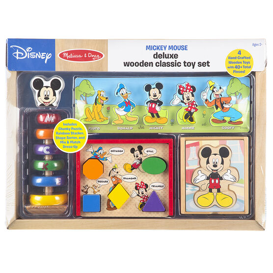 Melissa & Doug Mickey Classic Toy Set