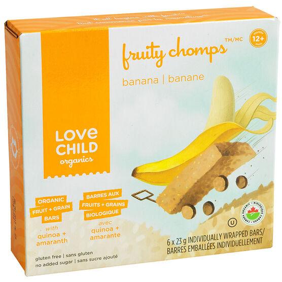 Love Child Fruity Chomps - Banana - 6 x 23g