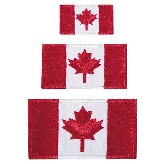 Austin House Canada Flag Patches - AH99IP91