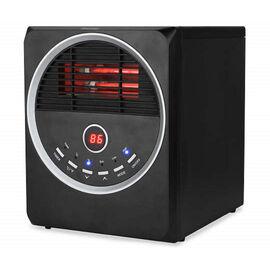 Warm Living Infrared Heater - Black - WL-9215BCP-6B