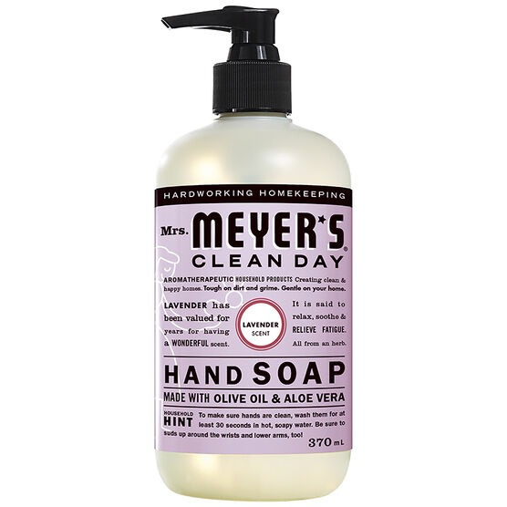 Mrs. Meyer's Clean Day Hand Soap - Lavender - 370ml